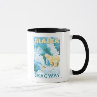 Polar Bears & Cub - Skagway, Alaska Mug