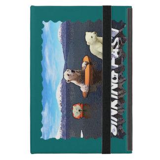 Polar Bears - Sinking Fast iPad Mini Cover