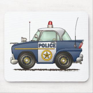 Police Car Law Enforcement Mouse Pad