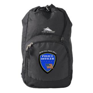 Police Law Enforcement Backpack