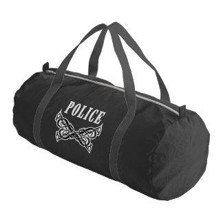 Police Law Enforcement Tattoo Gym Bag