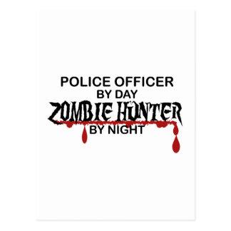 Police Zombie Hunter Postcard
