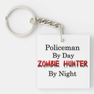 Policeman/Zombie Hunter Key Ring