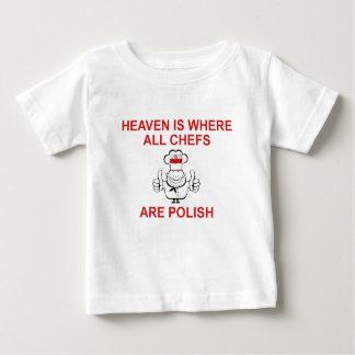 Polish Chefs Baby T-Shirt