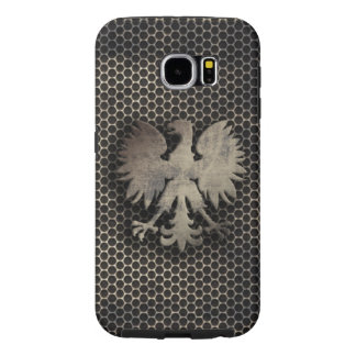 Polish Eagle Metal Style Look Samsung Galaxy S6 Cases