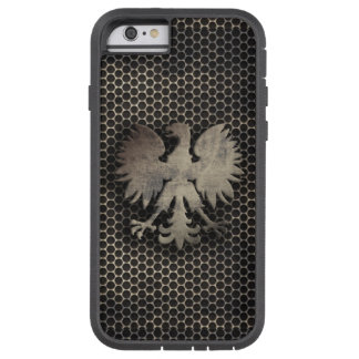 Polish Eagle Metal Style Look Tough Xtreme iPhone 6 Case