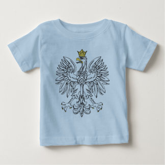 Polish Eagle With Gold Crown Baby T-Shirt