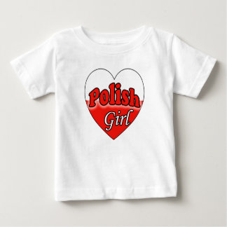 Polish Girl Baby T-Shirt