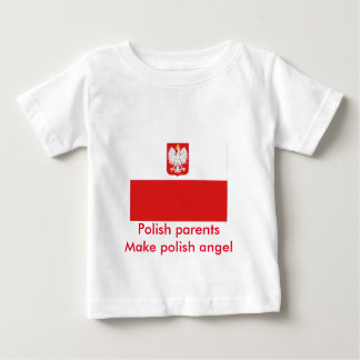 polish parents flag baby T-Shirt
