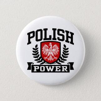 Polish Power 6 Cm Round Badge