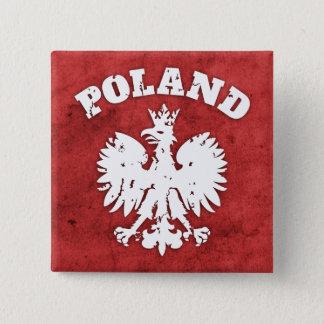 Polish Pride Eagle Symbol 15 Cm Square Badge