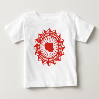 Polish Roots Map Baby T-Shirt
