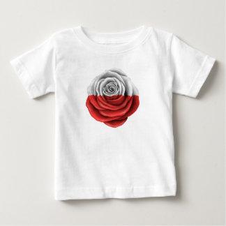 Polish Rose Flag Baby T-Shirt