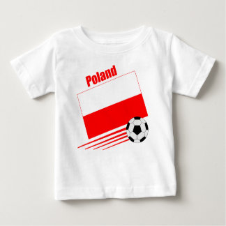 Polish Soccer Team Baby T-Shirt