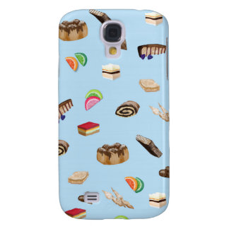 Polish Sweets Blue Galaxy S4 Case