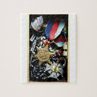 Polish WWII Veteran Medal Puzzle