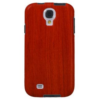 Polished Wood Pattern Galaxy S4 Case