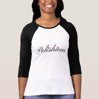 Polishious Bella+Canvas 3/4 Sleeve Raglan T-Shirt