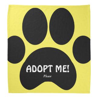 Polite Dog Adoption Bandana