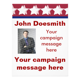 Political Campaign Flyer Template