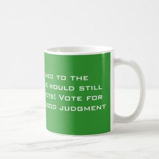 Political Judgment Coffee Mug