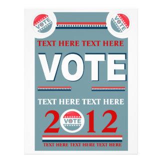 Political Vote Flyer