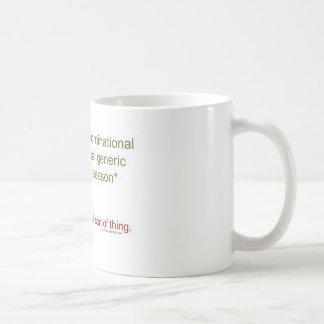 Politically Correct Holiday Basic White Mug