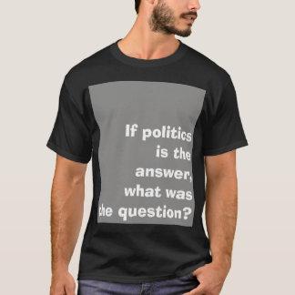 'Politics' slogan shirt