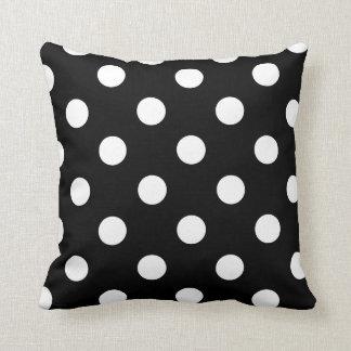 Polka and dots pillow throw cushion