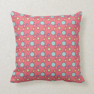 Polka Dot Craze Throw Pillows