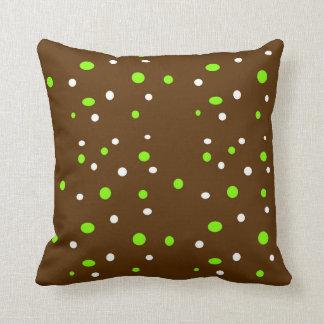 Polka Dot Throw Pillows