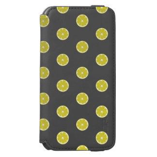Polka Dot Fresh Lemon Case Incipio Watson™ iPhone 6 Wallet Case
