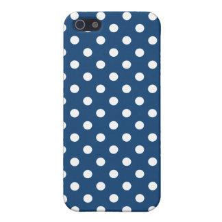 Polka Dot iPhone 5 Case in Monaco Blue