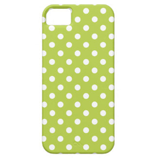 Polka Dot iPhone 5 Case in Tender Shoots Green