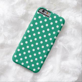 Polka Dot iPhone 6 case in Emerald Green