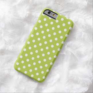Polka Dot iPhone 6 case in Tender Shoots Green