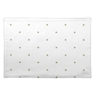 Polka dot Note book Placemat