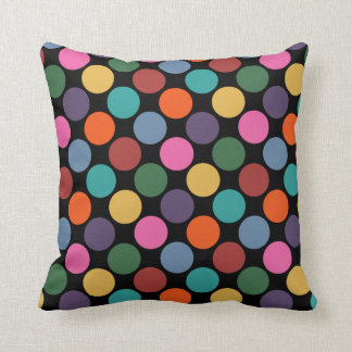 Polka Dot Pattern Pillow Throw Cushion