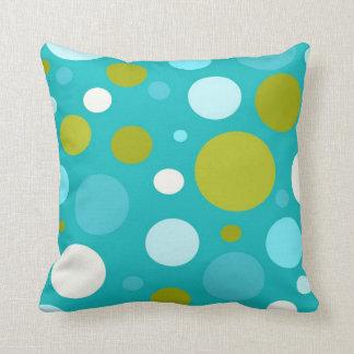 Polka Dot Pattern throw pillow