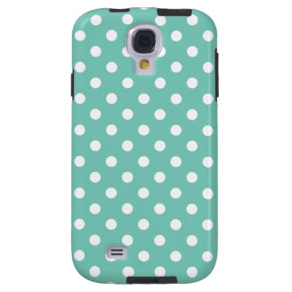Polka Dot Samsung Galaxy S4 Case in Turquoise