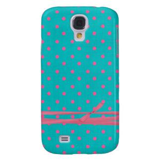 Polka dot Samsung S4 Case