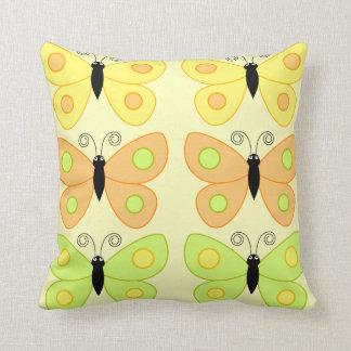 Polka Dots and Butterflies Pillows