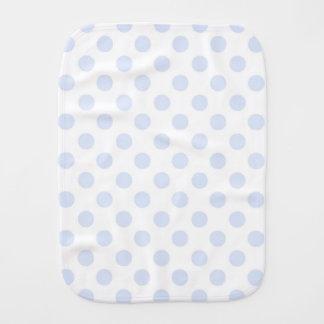 Polka Dots/Burp Cloth/Blue Burp Cloth