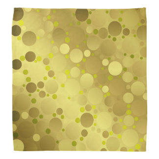 Polka dots, colored, elegant, pattern, bandana