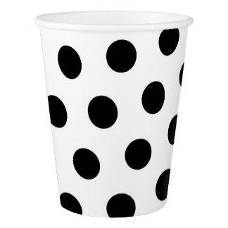 Polka dots Custom Paper Cup, 9 oz Paper Cup