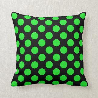 Polka Dots Green Pillows