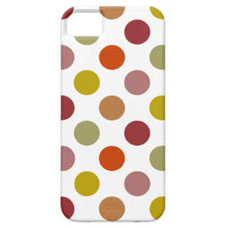Polka Dots Harvest Mix Case For The iPhone 5