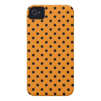 Polka Dots on Tangerine iPhone 4 Case-Mate Case