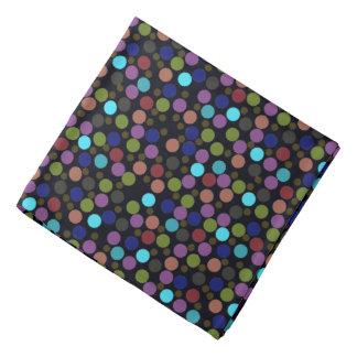polka dots pattern bandana
