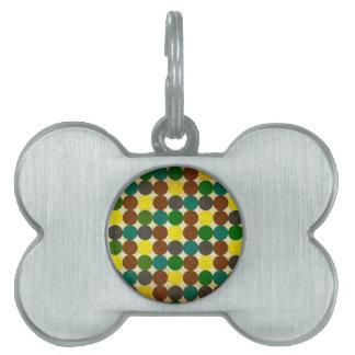 Polka Dots Pet ID Tags